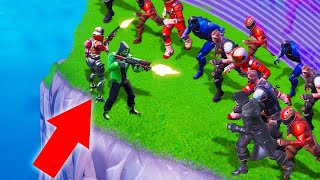 3 People vs. 100 ZOMBIES In FORTNITE! (Battle Royale)