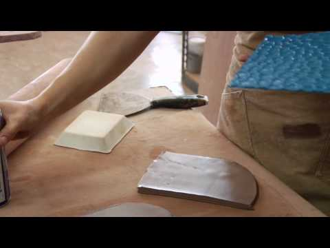 Clay Pottery Slab Building : Fabricated Clay Texture S
