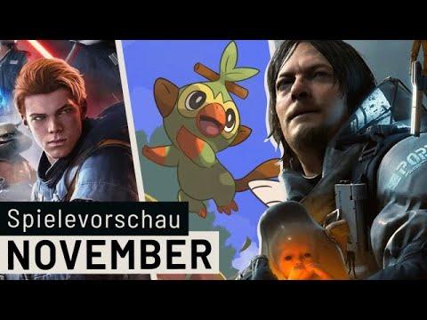 Neue Spiele im November: Pokémon, Star Wars Jedi: Fallen Order, Death Stranding