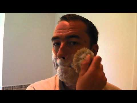 Merkur Futur Razor + Blade - Shaving Video