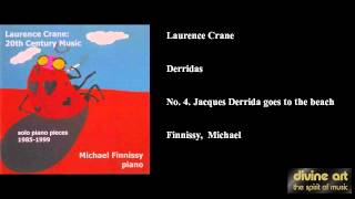 Laurence Crane, Derridas, No. 4. Jacques Derrida goes to the beach