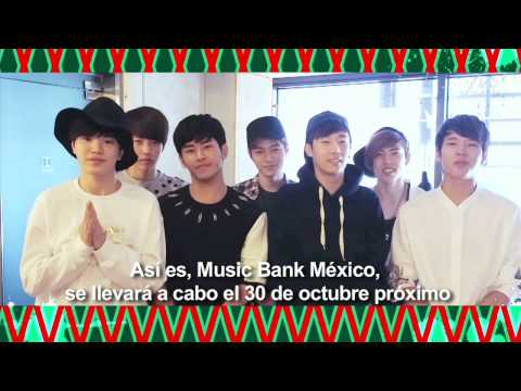 INFINITE Music Bank Mexico