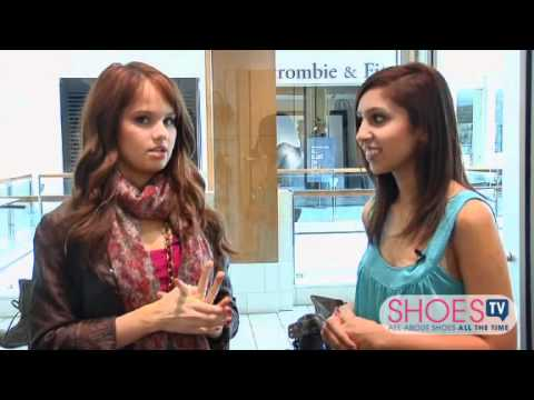 Off the Rack With...Debby Ryan - ShoesTV Interview