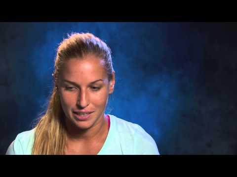 Dominika Cibulkova interview (quarterfinal) - 2014 Australian Open