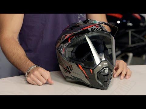 AGV AX-8 DS EVO GT Helmet Review at RevZilla.com