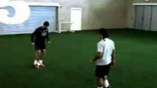 Cristiano Ronaldo freestyle  skills (Rio Ferdinand 5 Magazine).3gp