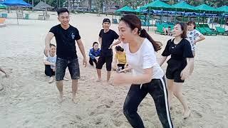 OPPO Service: Training miền Trung quý II 2018 - Trò chơi vui trên biển