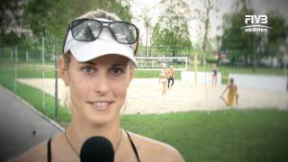 Interview with Sara Goller at the Myslowice Open 2011