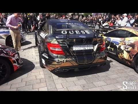 Gumball 3000 2015 Supercar Arrivals and Grid Preview