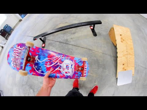 I Made A Personal Skatepark In My Garage.