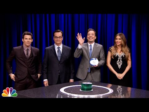 Catchphrase with Sofia Vergara and James Marsden