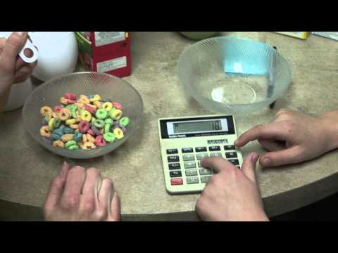 Quantity of Sugar in Breakfast Cereal