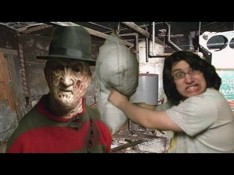 Freddy Krueger Pillow Fight!!!