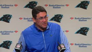Ron Rivera Talks Run Defense, Divisional Rivalries & Injury Updates | Carolina Panthers