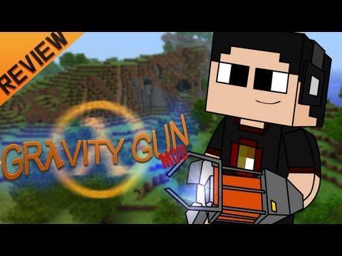 Minecraft para PC: Gravity Gun Mod para 1.4.5. como Instalar y Review!! (Forge)