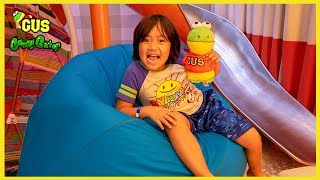 Ryan took me on a Cruise ! Family Fun Vacation Trip with Ryan ToysReview!