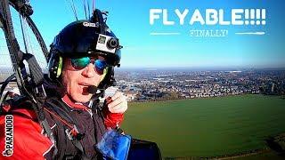Paramotor Vlog - FINALLY FLYABLE, old RAF BASES, chat
