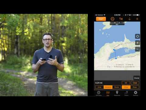 GPS Navigation for Photographers with the GPS Tracks app