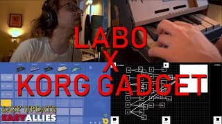 Nintendo Labo X Korg Gadget - Making a song - Easy Update