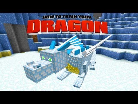 Minecraft - How To Train Your Dragon - Fat Casper The Ghost Dragon! [24] video