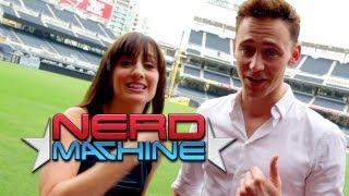 Tom Hiddleston - Exclusive Interview - Nerd HQ (2013) HD - Alison Haislip