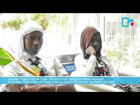 Journée Trajectoire de l'IAM   Mame Mbaye Niang livre ses leçons de vie aux étudiants de l'IAM