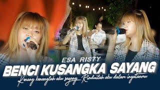 Download lagu Esa Risty feat Music Interactive  - Benci Kusangka Sayang ( Music Live)