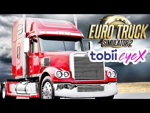 Euro Truck Simulator 2 - (Sponsored) Tobii EyeX Vs Track IR 5