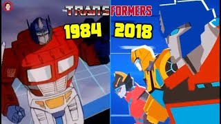 All Main Transformers Cartoon Intros HD (1984 - 2018) G1 to Cyberverse