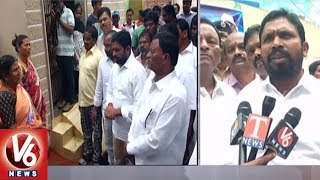 SC ST Commission Chairman Errolla Srinivas Visits Basthis In Hyderabad | V6 News