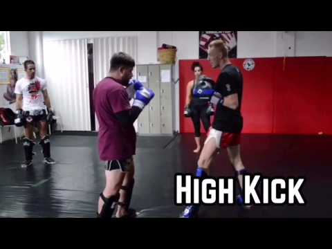 Dutch Kickboxing Drill Sequence at Phuket Top Team