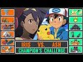 Ash vs. Iris (Pokémon SunMoon) - Unova Champion's Challenge