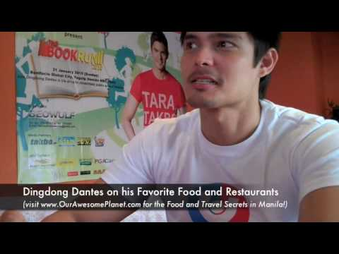 Dingdong Dantes on Food and his Favorite Restaurants :)