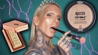 $9.99 MAYBELLINE HIGHLIGHTER VS. $42 LUXURY HIGHLIGHTER
