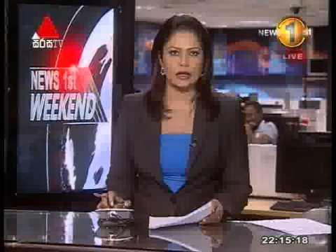 News 1st Prime time 10PM  Sirasa TV 31st January 2015