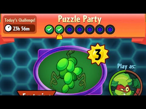 Puzzle Party | 6 December 2017 | Plants vs. Zombies Heroes