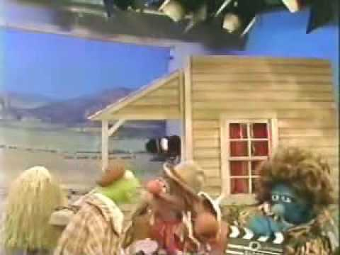 Classic Sesame Street - Kermit on the set of