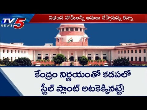 ఊరించి ఉసూరుమనిపించిన మోడీ సర్కార్ | SC Issued Affidavit To Kadapa Bayyaram Steel Plant | TV5 News