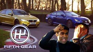 BMW M4 VS Lexus RC-F - the FULL Challenge | Fifth Gear