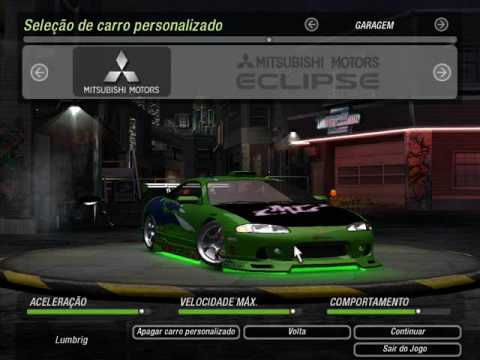 Need for Speed Underground 2 com carros do Velozes e Furiosos Music Videos