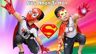 Siêu Anh Hùng Tốt Bụng Giúp Đỡ  Mọi Người | Kind-hearted Superheros ♥ Min Min TV Minh Khoa