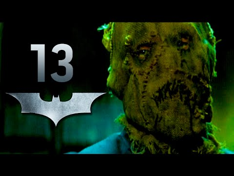 Road to Arkham Knight - Batman Begins - Scarecrow Boss FIght - Gameplay Walkthrough Part 13