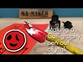 How to make a Calligraphy pen out of junk