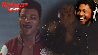 THE UGLIEST NPC I'VE EVER KILLED IN THIS GAME | NEW Friday The 13th (Single Player)