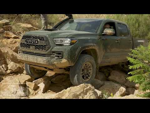 2020 Toyota Tacoma Off-Road Highlight Reel — PickupTrucks.com