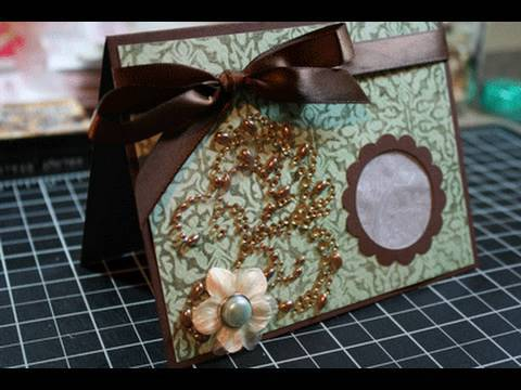 Embossing with your Cricut