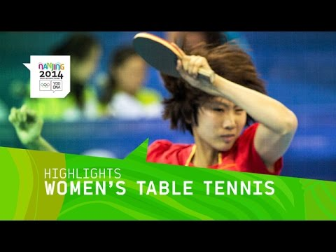 Liu Gaoyang Wins Women's Table Tennis Gold - Highlights | Nanjing 2014 Youth Olympic Games