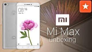 Xiaomi Mi Max, unboxing y primeras impresiones