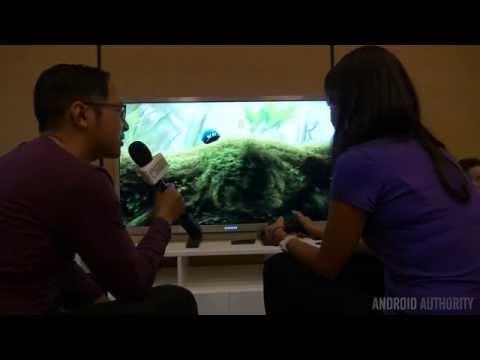 Android TV Demo at Google I/O 2014
