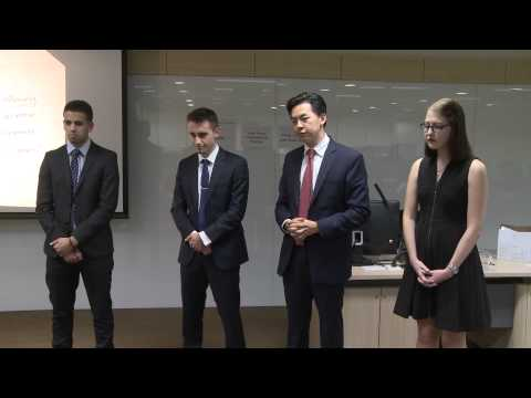 HSBC / HKU Asia Pacific Business Case Competition 2015 Round 4A2 University of Auckland